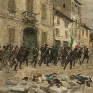 L'assalto di Porta Tosa - Mosé Bianchi