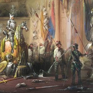 Espropriazione delle armi - L'armeria del nobiluomo Ubaldo di Carlo Bossoli